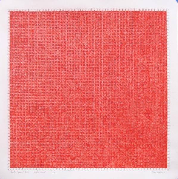 , 'Red Pattern 2017,' 2017, David Barnett Gallery