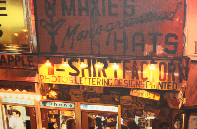 Noel Mahaffey, 'Times Square', 1980, EastCoastArt