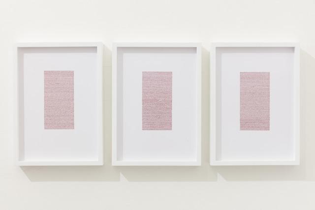 , 'Infinitesimal (rouge),' 2015, Sabrina Amrani