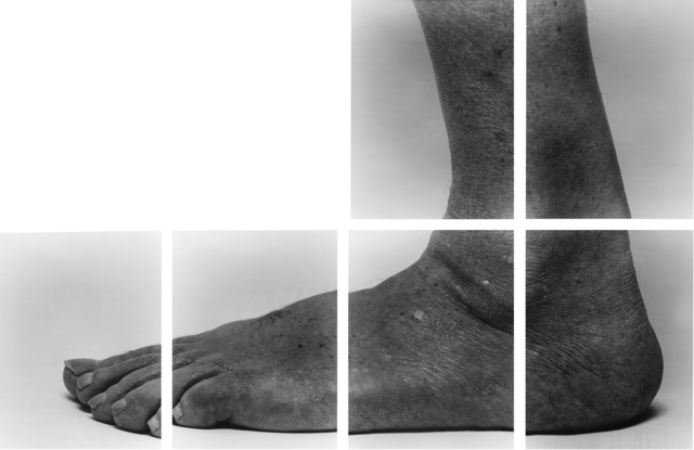 , 'Self-Portrait (Sidefoot, 6 Panels, L Shape, n°1),' 1988, Galerie Lelong & Co.
