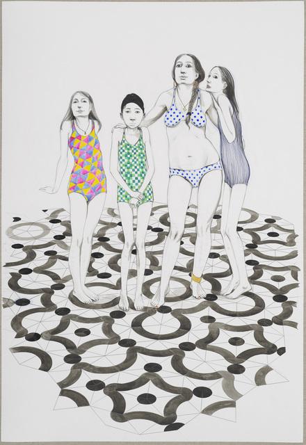 , 'Untitled (Swimmers),' 2014, Studio SALES di Norberto Ruggeri