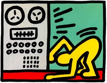 Keith Haring, 'Pop Shop III', 1989, Georgetown Frame Shoppe