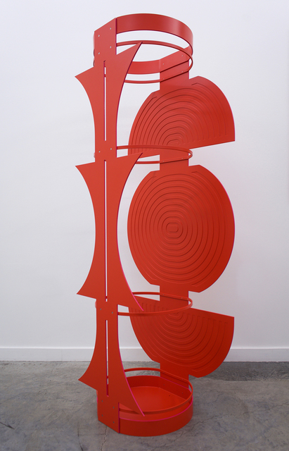 Elise Ferguson, 'Armour', 2019, Sculpture, Powder coated aluminum with stainless steel fasteners, Romer Young Gallery