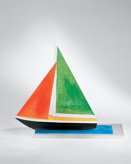 , 'Sailboat,' 2008, Mixografia