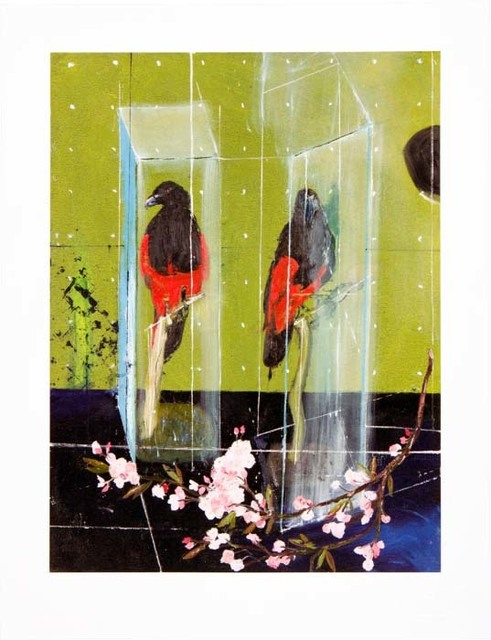 Damien Hirst, 'Two Parrots', 2012, Kenneth A. Friedman & Co.