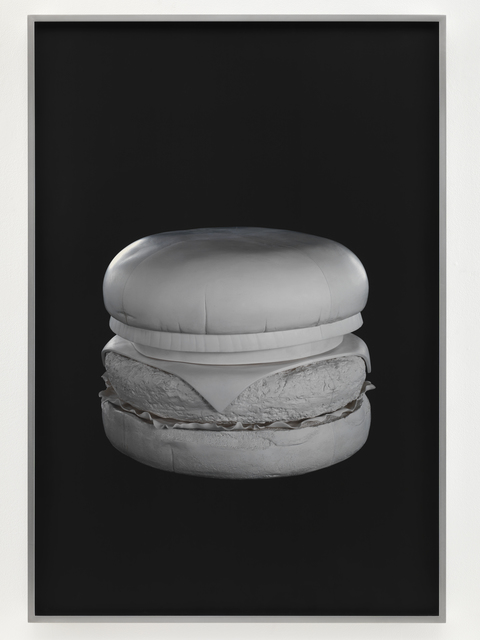 , 'quarter pounder, no color,' 2010, Matthew Marks Gallery