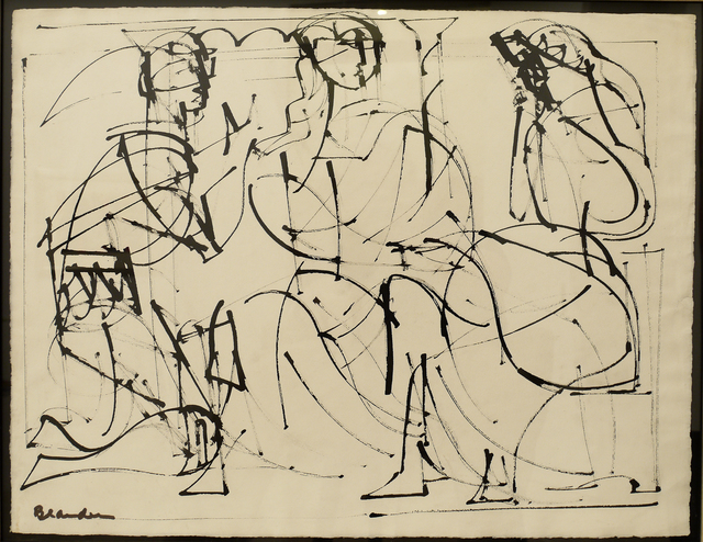 , 'Untitled from The Iliad Series,' 1948-1952, DC Moore Gallery
