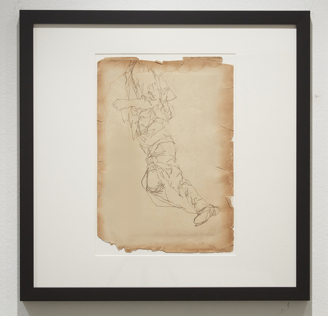 , 'Life Wants to Live (Study 1),' 2014, Jonathan LeVine Projects