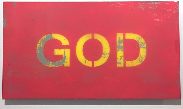 , 'GOD,' 2017, Woodward Gallery