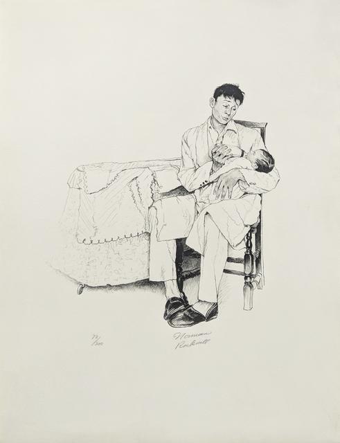 Norman Rockwell, 'TWO O'CLOCK FEEDING', 1973, Gallery Art
