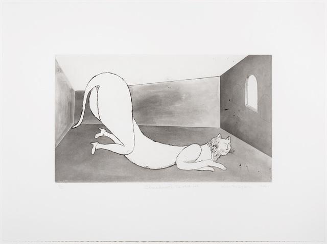 , 'Champfleurette, the white cat,' 1994, Marlborough Gallery