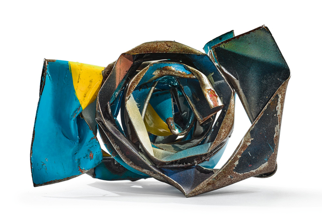 John Chamberlain, 'Untitled', ca. 2005, Sculpture, Painted and chrome-plated steel, Sotheby's: Contemporary Art Day Auction