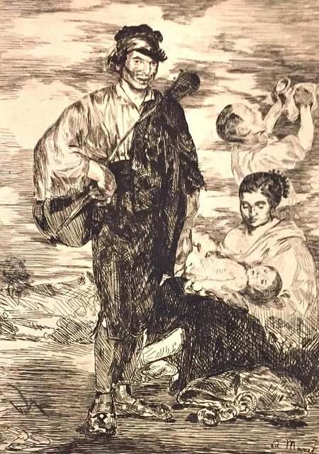Édouard Manet, 'Les Gitanos', 1962, Wallector