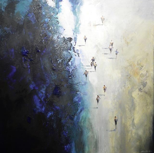 Mel Brigg, 'The Arrivals', 2019, Wentworth Galleries