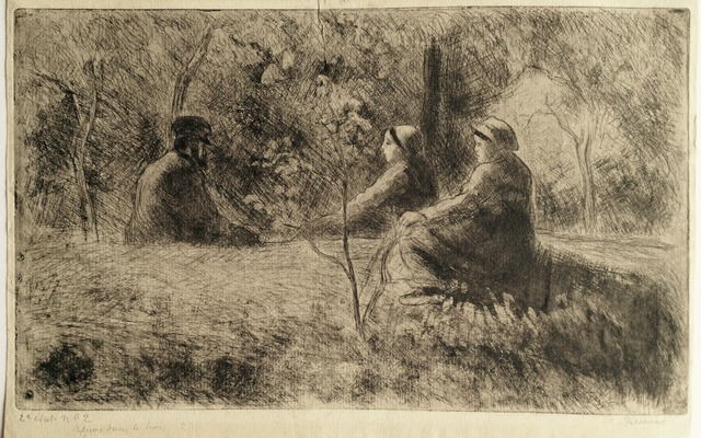 , 'A Peaceful Sunday in the Woods,' 1891, Harris Schrank Fine Prints