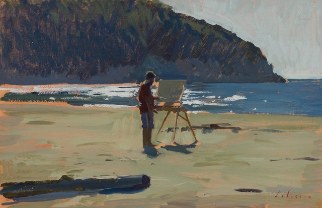, 'Ben Painting,' 2015, Grenning Gallery