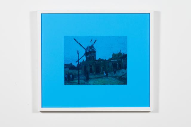 , 'Le moulin de la galette (bleu),' 2018, Art Mûr