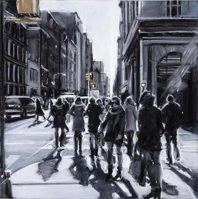 , 'Corner Crowd,' 2018, Elins Eagles-Smith Gallery