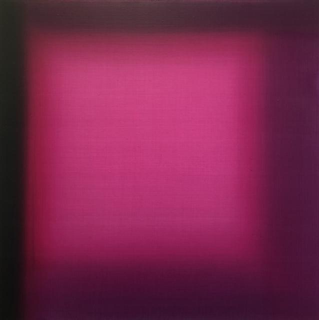, 'Magenta Square 1,' 2018, Brintz Gallery