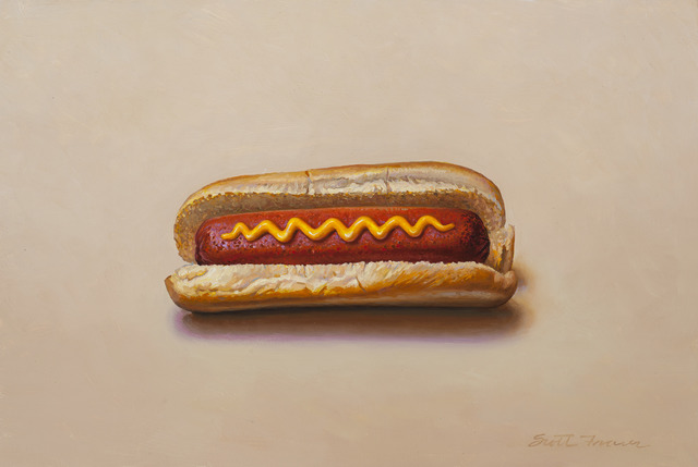 , 'Hot Dog with Mustard,' 2018, Jenkins Johnson Gallery