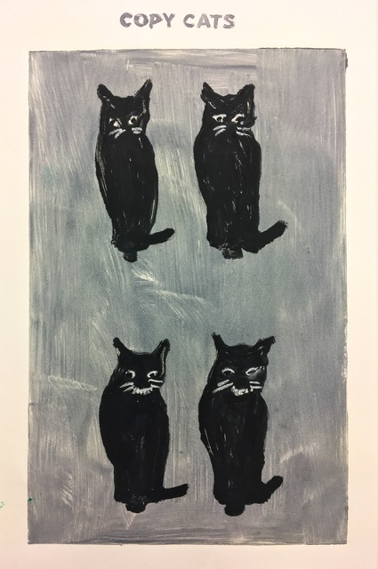 Richard Bosman, 'Untitled (Copy Cats II)', 2017, Cross Contemporary Art