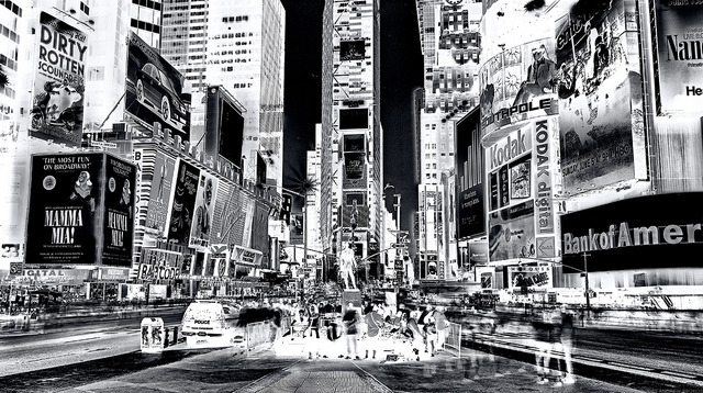 , 'Inverted Times Square,' 2018, Andrew Prokos Gallery