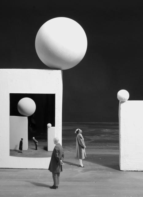 Gilbert Garcin, 'Le danger des images - The danger of images', 2009, Photography, Gelatin silver print, Stephen Bulger Gallery