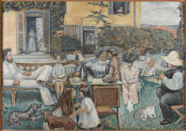 , 'L'Après-midi bourgeoise, dit aussi La Famille Terrasse (A Bourgeois Afternoon or the Terrasse Family),' 1900, Musée d'Orsay