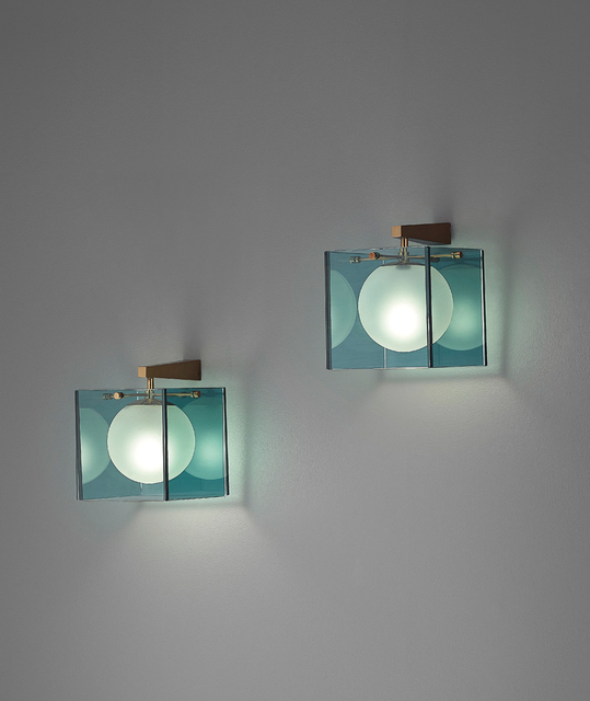 Max Ingrand, 'Pair of wall lights, model no. 2334', 1960s, Phillips