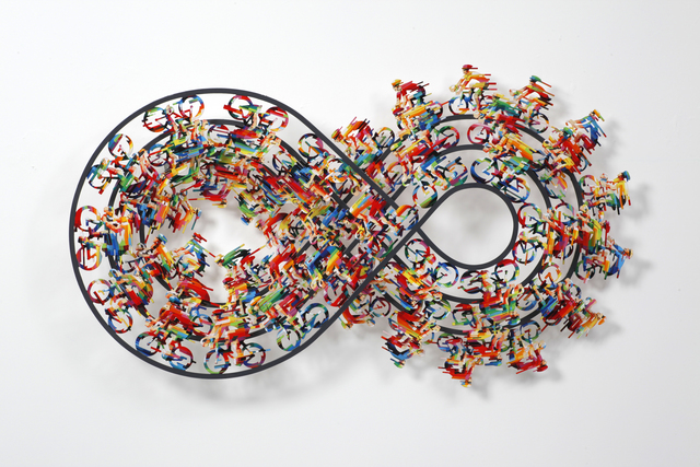 David Gerstein, 'INFINITY RALLY暢遊', 2015, Installation, Aluminum鋁 3層, Artrue Gallery