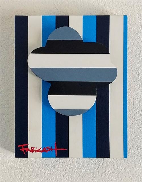 , 'Grey Clouds Over Blue Skies,' 2018, Priscilla Fowler Fine Art