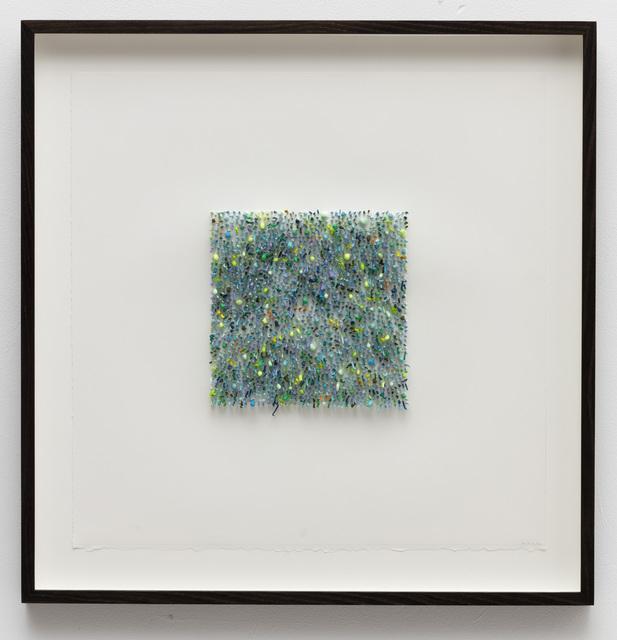, 'Organic square#01 (green),' 2016, Anne Mosseri-Marlio Galerie