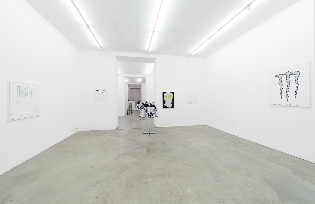 Exhibition view, Andy Hope 1930, Enjoy Thank You, Gabriele Senn Galerie, Vienna 2016