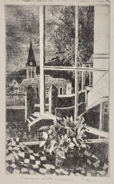 Penny Siopis, 'Flowers in the window ', ca. 1977, Dyman Gallery