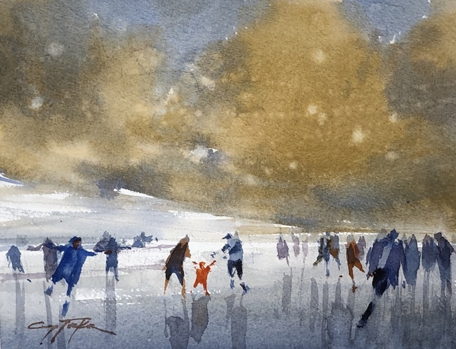 Gary Tucker, 'Winter Fun ', 2014-2019, Copley Society of Art