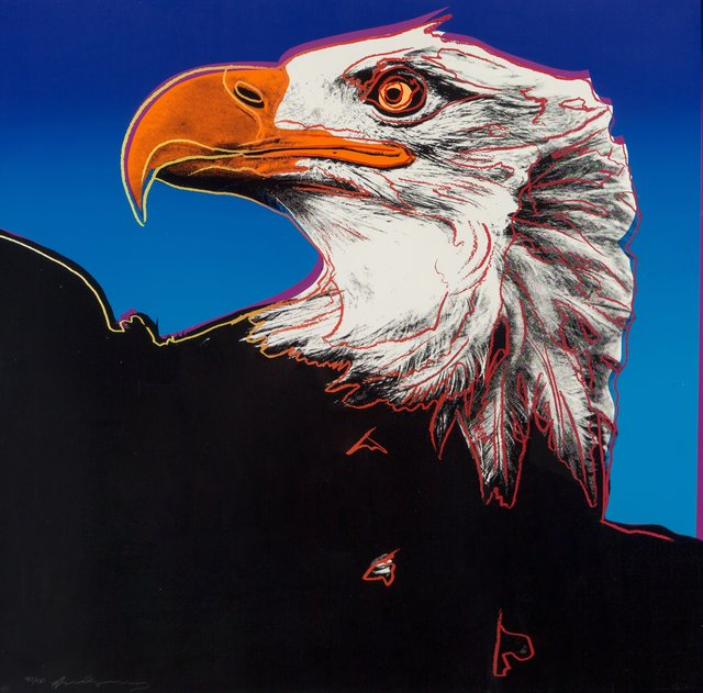 Andy Warhol, 'Bald Eagle, from Endangered Species', 1983, Heritage Auctions