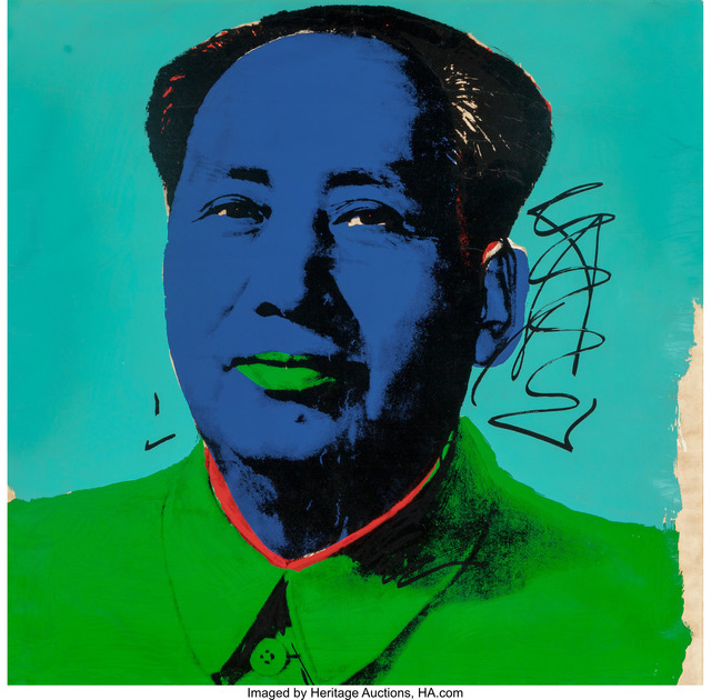 Andy Warhol, 'Mao', 1972, Heritage Auctions