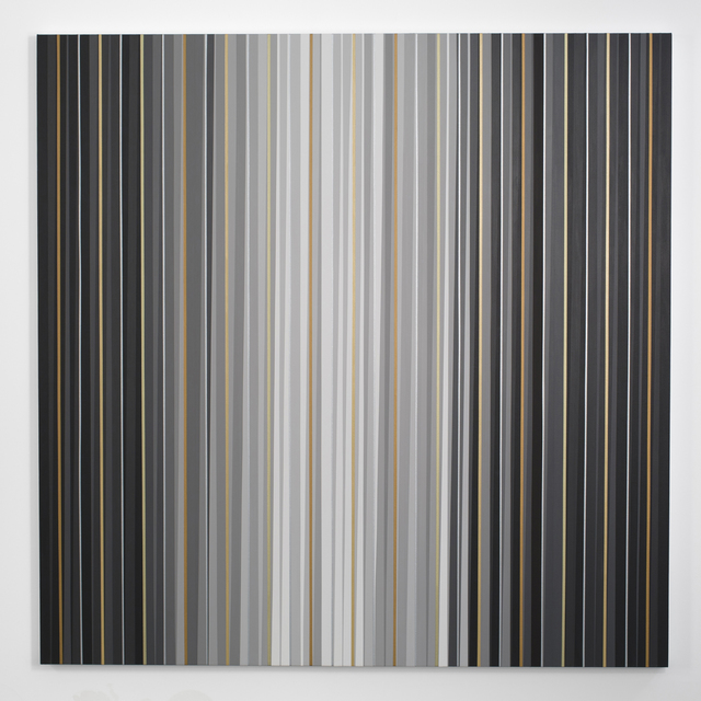, 'Grays + Metallics (Aedicula), The Black Room Series,' 2014, Minus Space