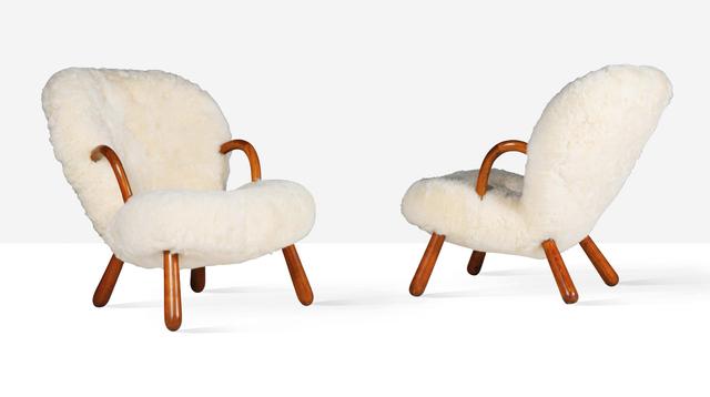 Philip Arctander, 'Pair of lounge chairs', circa 1945, Aguttes