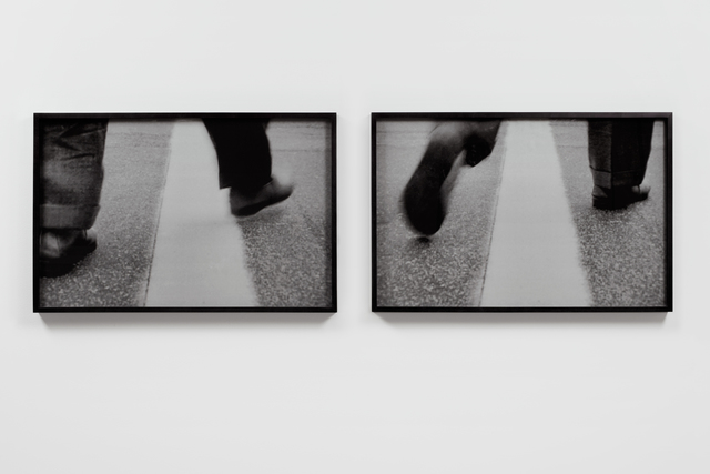 , 'Crossing the Line,' 2015, James Cohan