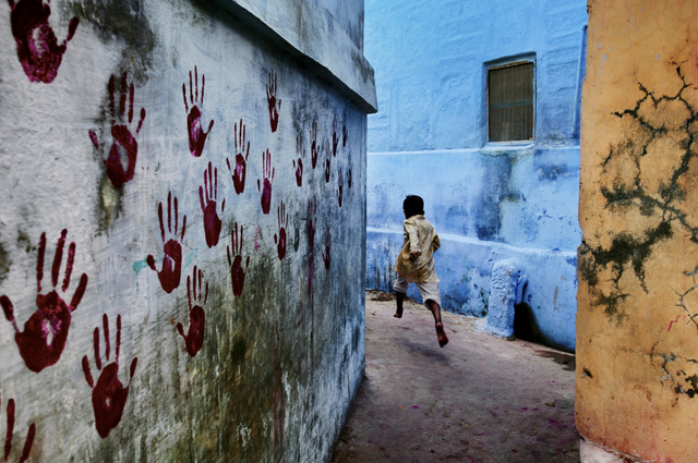 , 'Boy in Mid-Flight, Jodhpur, India,' 2007, Etherton Gallery