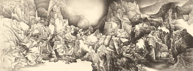 , 'Splendor of Heaven and Earth,' 1994-1995, Guggenheim Museum