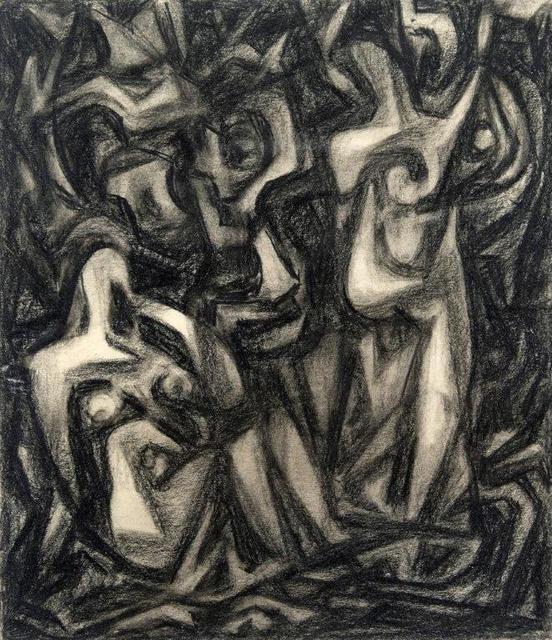 , 'Figures,' 1940s, Addison Rowe Gallery