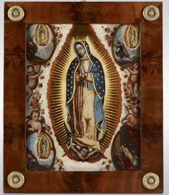 , 'Virgin of Guadalupe,' , Diptych Fine Arts