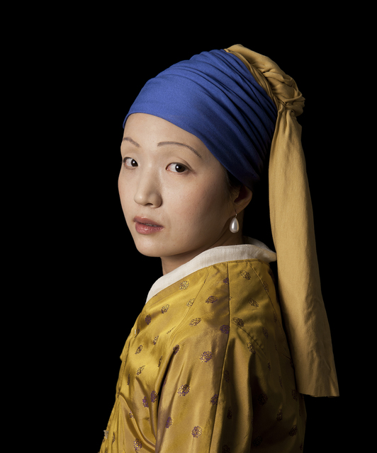 , 'Ode to Vermeer's Girl with a Pearl Earring ,' 2012, Jonathan Ferrara Gallery
