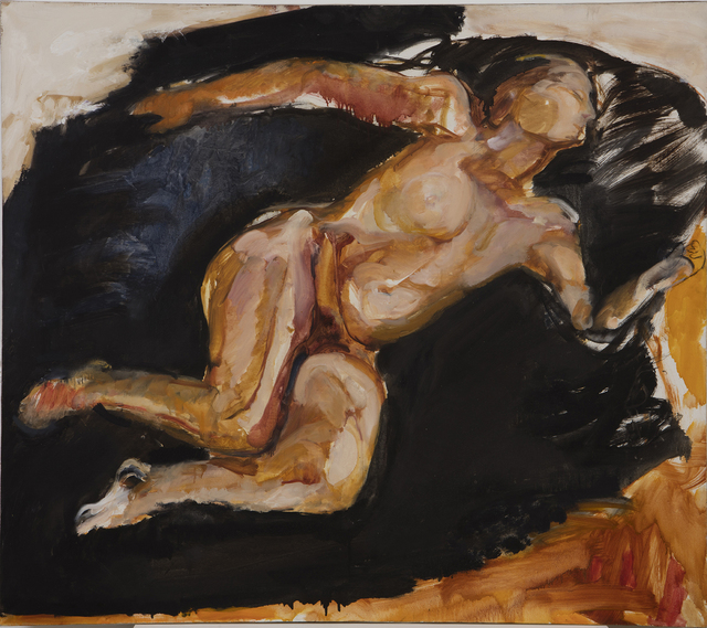 , 'Nude with White and Black Sleeping,' 1986, Oliver Sears Gallery