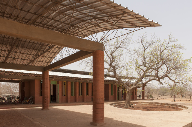 , 'Opera Village, Laongo, Burkina Faso,' 2009, Philadelphia Museum of Art