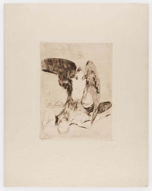 , 'Harpy,' 1894, Frederick Mulder