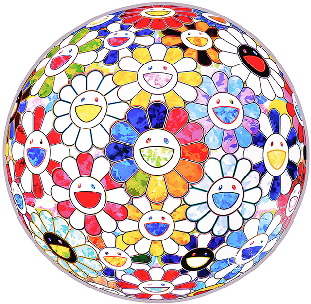 Takashi Murakami, 'SCENERY WITH A RAINBOW IN THE MIDST', 2014, Silverback Gallery