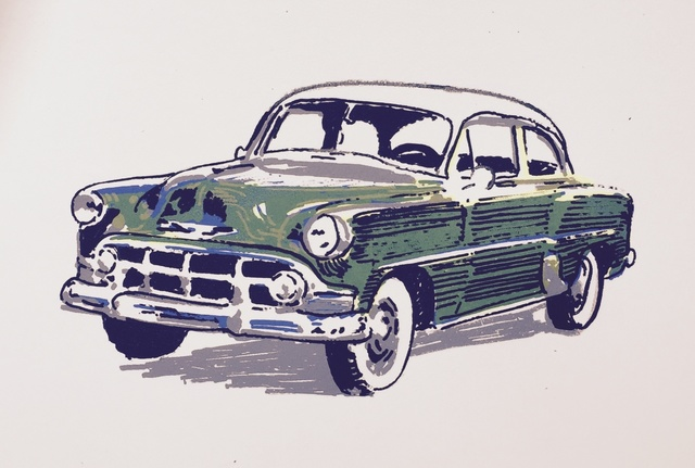 , ''53 Chevy,' 2015, 440 Gallery